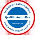 Qualitätskontrollen - Regelmässige Untersuchungen